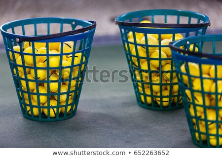 Empty Golf Ball Baskets at Driving Range Stock photo © juniart