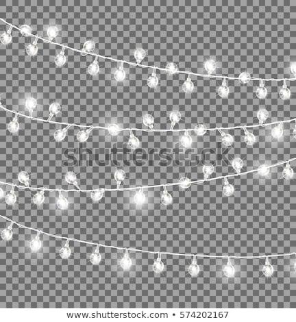 Corde lumière tube réfléchissant Photo stock © nelsonart