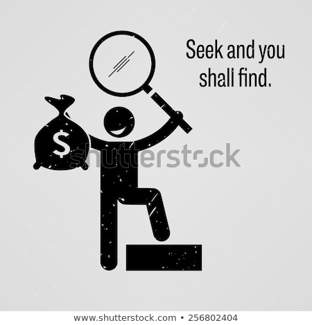 Man finding a bag of money Stock photo © artisticco