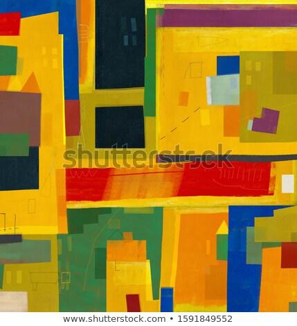 Peinture ville rouge artiste personnes célébrer Photo stock © retrostar
