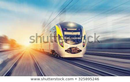 Fast train in motion  Stock photo © mikdam