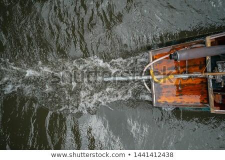 çalışma motor tekne fotoğraf motor Stok fotoğraf © Mps197