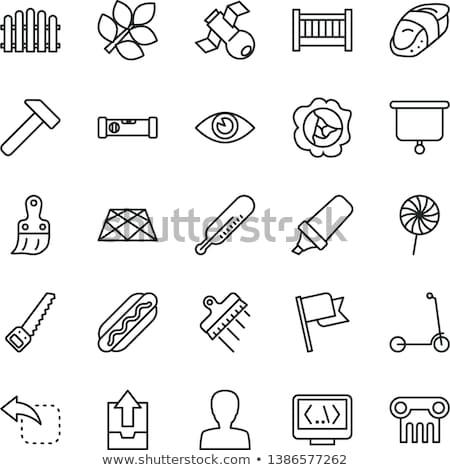 construction tools green vector button icon design set 2 stock photo © rizwanali3d