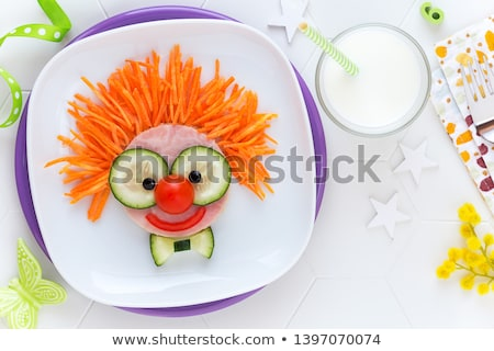 Stockfoto: Voedsel · leuk · gelukkig · opgewonden · sexy · oktoberfest