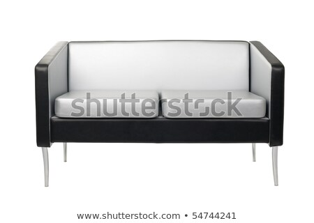 grey and black modern sofa isolated Stock photo © ozaiachin