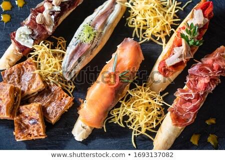 Stock photo: Delicious Spanish Snacks