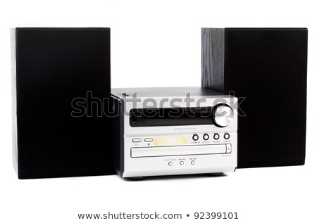 audio mini system radio player stock photo © paha_l