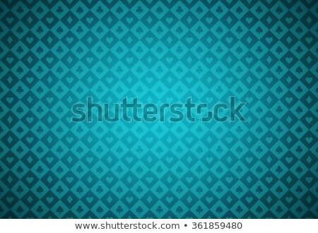 бирюзовый покер текстуры карт Сток-фото © liliwhite
