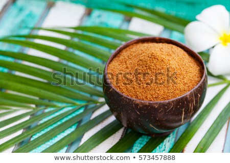 Background texture of organic coconut sugar Stock photo © ozgur