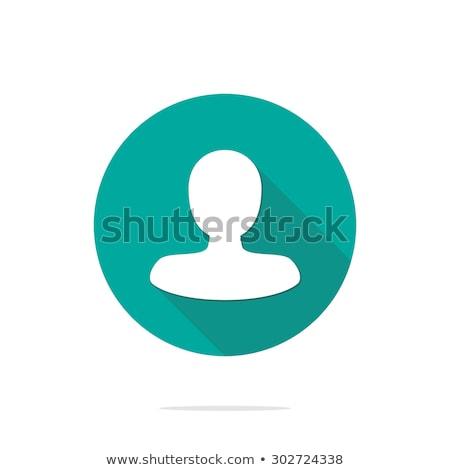 Stock fotó: Felhasználó · profil · ikon · felirat · logotípus · vektor