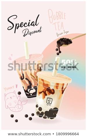 Delicious milk Stock photo © racoolstudio