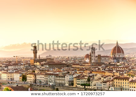 View of the city Florence, Italy Stock photo © m_pavlov