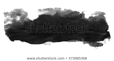 Abstract textuur zwarte inkt splatter water Stockfoto © SArts