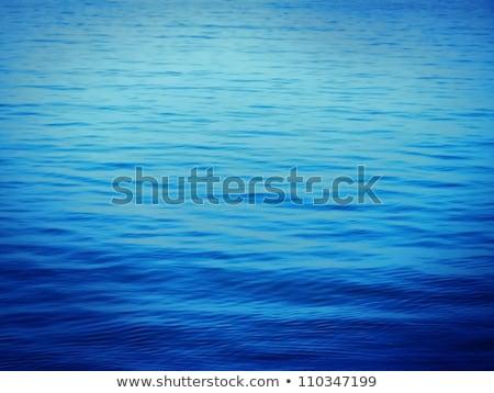 Bleu eau calme vagues ordinateur généré Photo stock © Noedelhap