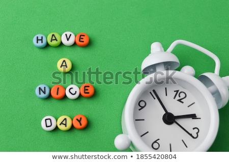 clock with beads stock photo © blackmoon979