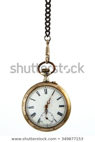 Old pocket clock Stock photo © IMaster