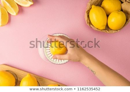 roze · kleur · schoonmaken · uitrusting · home - stockfoto © fisher