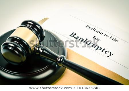破産 金融 問題 ストックフォト © devon