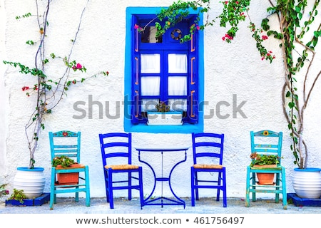 encantador · tradicional · rua · barras · ilha · bonitinho - foto stock © Freesurf