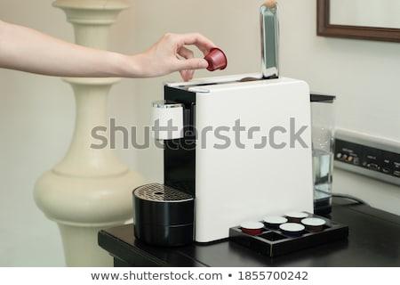 Single Serving Coffee Machine Stock photo © cteconsulting