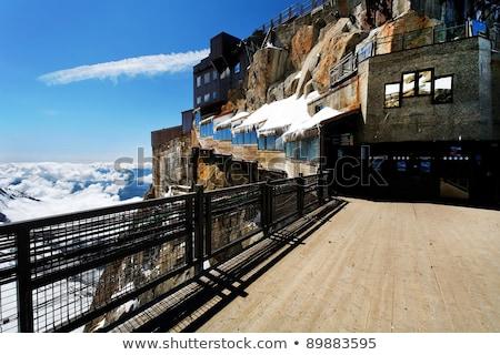 building in Aiguille du Midi - Mont Blanc Stock photo © Antonio-S