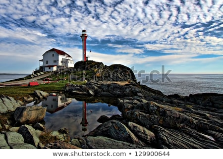Cape Forchu Lighthouse Stock photo © benkrut