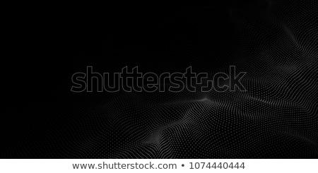 Fekete részecskék vektor absztrakt Stock fotó © SArts