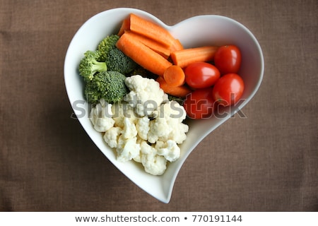 Stok fotoğraf: Sebze · malzemeler · üst · görmek · renkli
