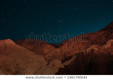 1泊 時間 砂漠 シーン 実例 背景 ストックフォト © bluering