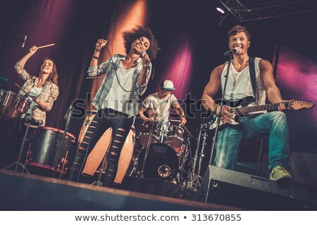 musical band group concert stock photo © jossdiim