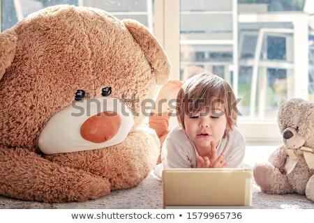 genç · dijital · tablet · fotoğraf · mutlu · genç - stok fotoğraf © minervastock