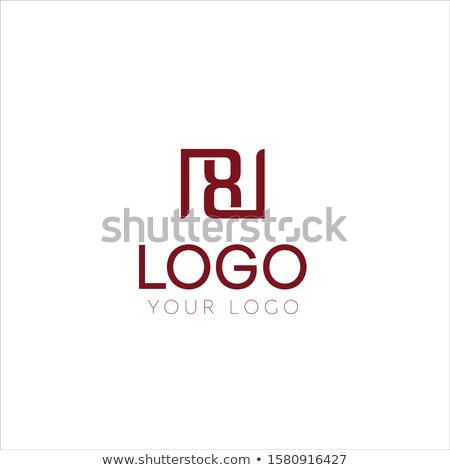 Viola lettera numero otto icona logo Foto d'archivio © blaskorizov