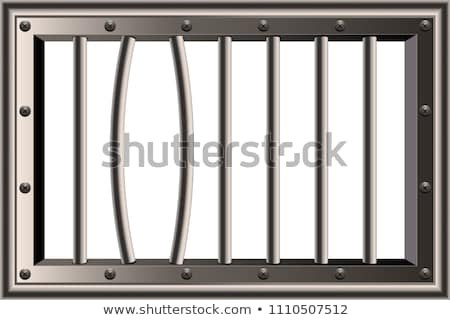 Iron Cage in the Room Stock photo © make