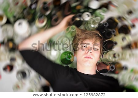 Teens with drinks Stock photo © pressmaster