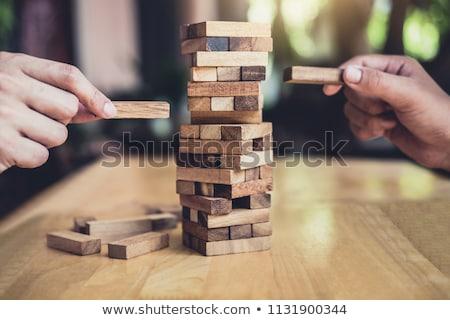 Alternativa risco plano estratégia negócio jovem Foto stock © Freedomz