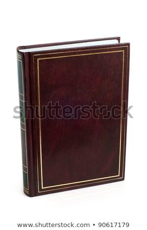 Elöl borító könyv klasszikus keret bent Stock fotó © Photooiasson