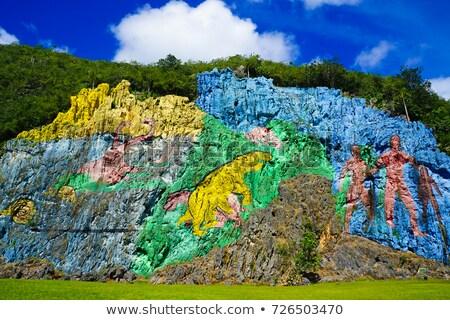 Vinales Valley site in  Pinar del Rio of Cuba Stock photo © Arsgera