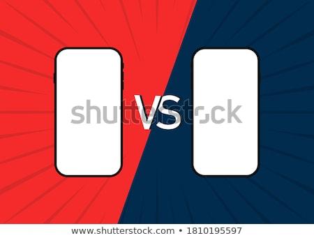 Battle of smartphones vs Stock photo © jossdiim