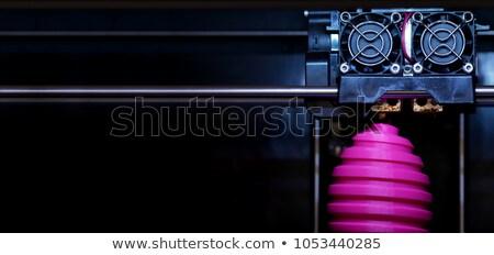 Futuristic Machine Engineering And Fabrication Stock photo © solarseven