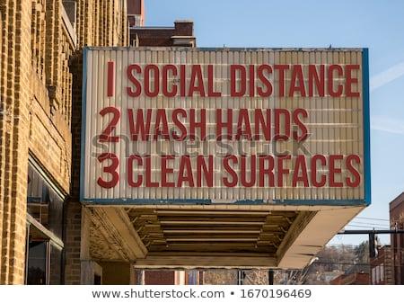 Social Distancing Idea stock photo © Lightsource