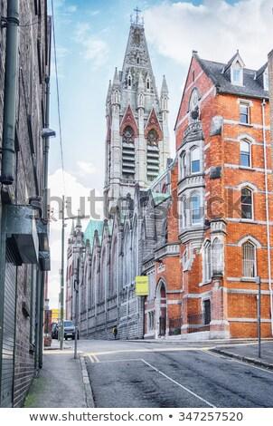 Sáv templom Dublin Írország nagy római Stock fotó © borisb17