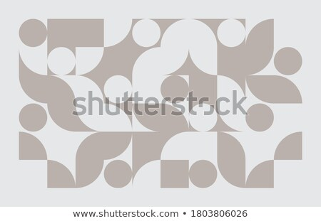 Elegante triangolo forme abstract banner design Foto d'archivio © SArts