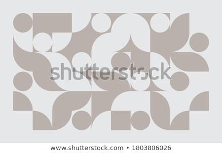 Foto stock: Elegant Subtle Triangle Shapes Abstract Banner Design
