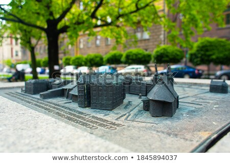 メイン 宮殿 芸術 クラクフ ポーランド 建物 ストックフォト © borisb17