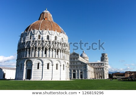 Baptistry of St. John in Pisa, Italy  Stock photo © vladacanon
