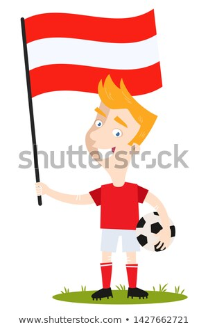 サッカー · 草 · フラグ · 空 · サッカー - ストックフォト © Saphira