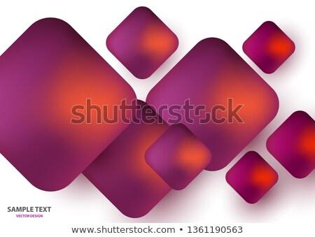 Résumé gradient wallpaper modèle cellule Photo stock © Iscatel