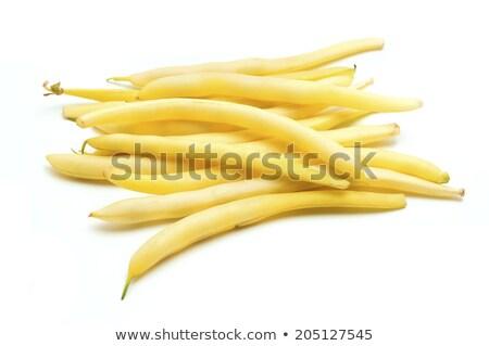 Citromsárga bab háttér mezőgazdaság friss egészséges Stock fotó © FOKA