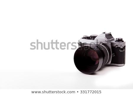 Altern Foto Kamera decken weiß Stock foto © RuslanOmega