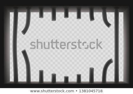 prisão · célula · imagem · dentro · velho - foto stock © smithore
